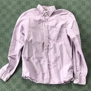 J. Crew Purple Button Down Shirt Size Medium Slim